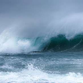 SUNDAY SNIPPET - O'er the tumult of life's wild restless sea