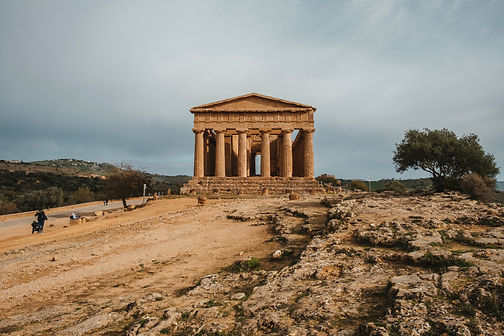 Sicily Agrigento Valle dei Templi