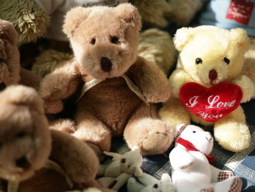 Stuffing Stuffed Animals Eases Grief
