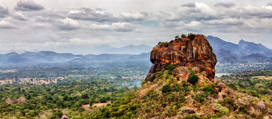 "Sigiriya, The ""Eighth Wonder of the World"" &  Exploring the rural village of Hiriwadunna"