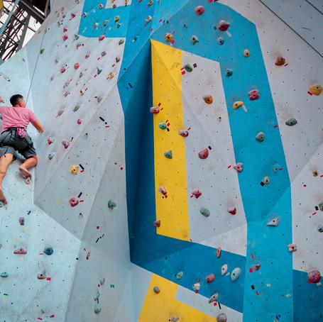 How To Build A Mountain Climbing Wall