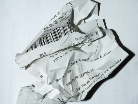 PFT #17 - How Receipt Tracking Can Help the Budget and Save the Environment