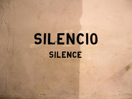 Tišina v meni (#CoronaLockDown alla Helena)