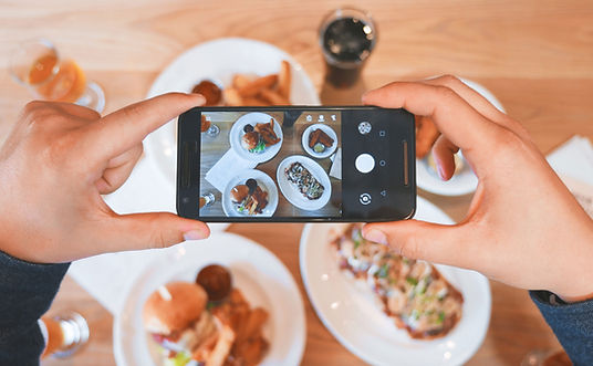 photo au smartphone de Eaters Collective