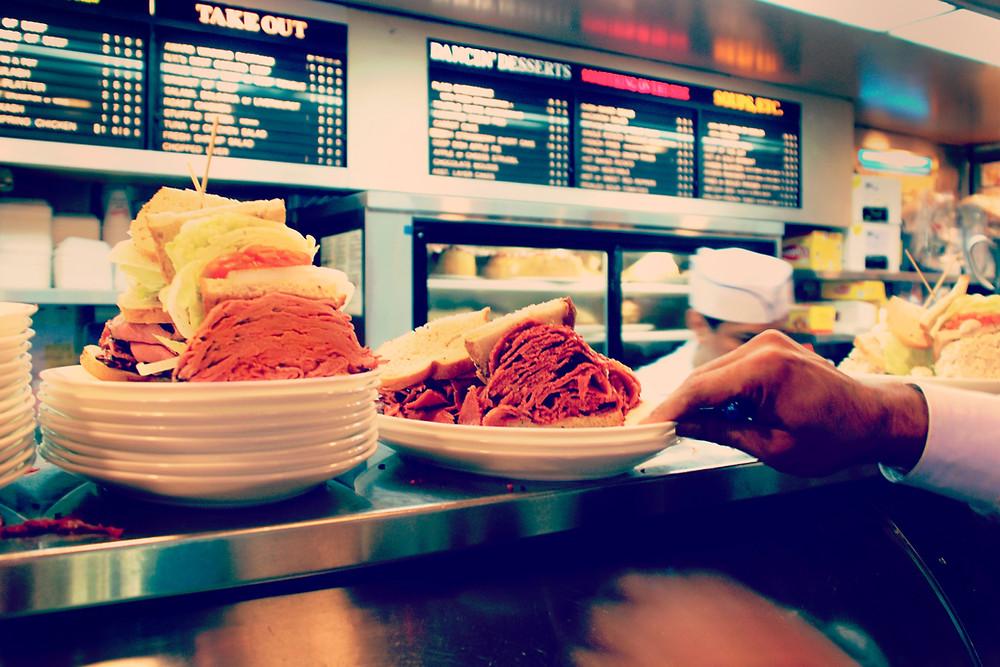 deli meat pastrami salt beef