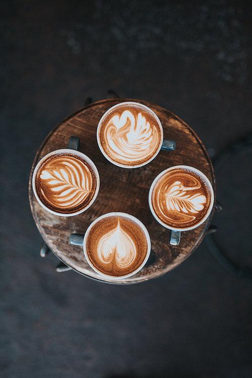 קוואטרו - 4 סוגי קפה לבחירתכם
