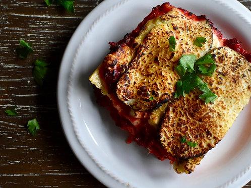 Wednesday - Lasagna Meal