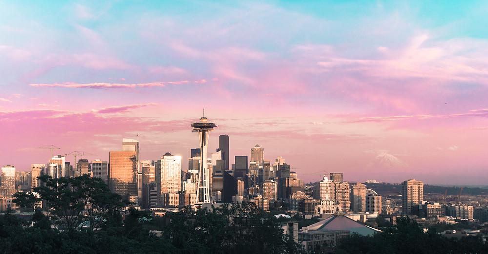 Seattle tech public relations. Skyline