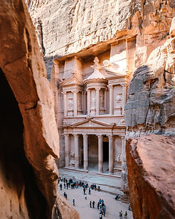 On this luxury privately guided journey through Jordan you get to see all the highlights of this country made famous by T.E. Lawrence.  Your expert guide will lead you through the Roman ruins at Jerash, the mosaics at Madaba and the crusader castle at Kerak. Undisputed highlight of your privately guided journey will be your explorations of the rose-red city of Petra.  But even after Petra there are more surprises: explore Wadi Rum's desert and enjoy a stay in a luxury camp, before relaxing with a swim in the Dead Sea.  As with all our private tours, this sample itinerary can be completely tailored to create the perfect journey of discovery for you.