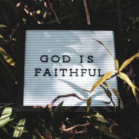 Glory & Grace: Faith Can Move Mountains