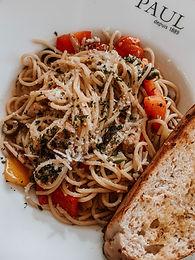 Vegetarian Pasta Puttanesca M