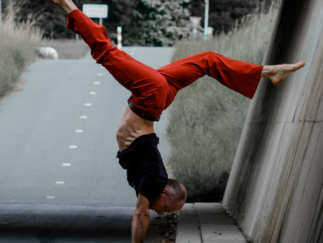 Luck as a major component of a handstand and other skills development