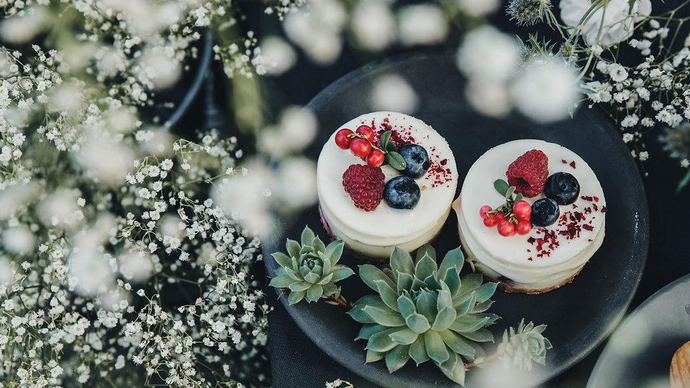 Festive Cheesecake Minis