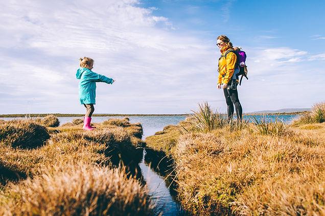 Family travel adventure