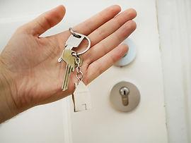 Home door and its keys