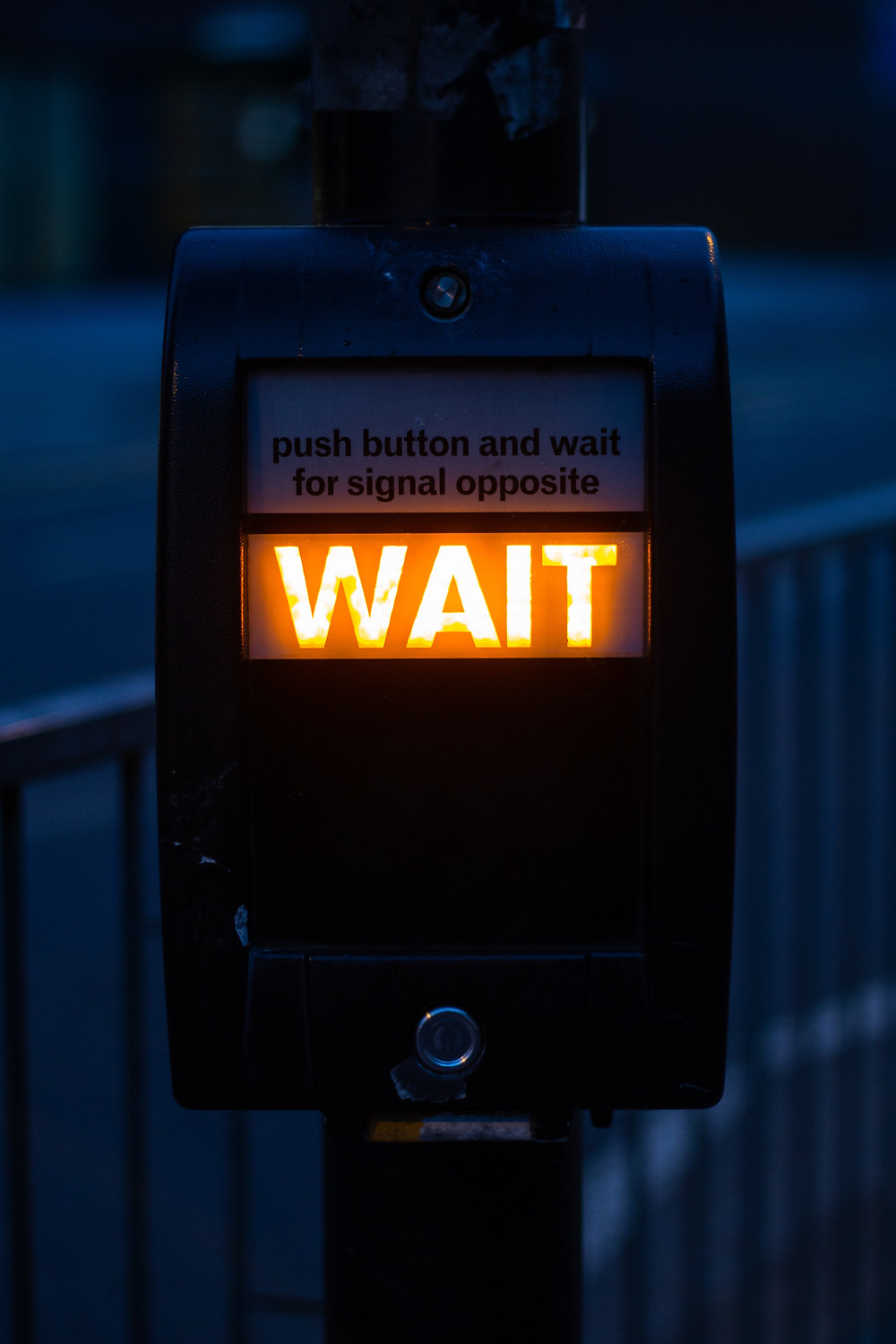 wait at crossing