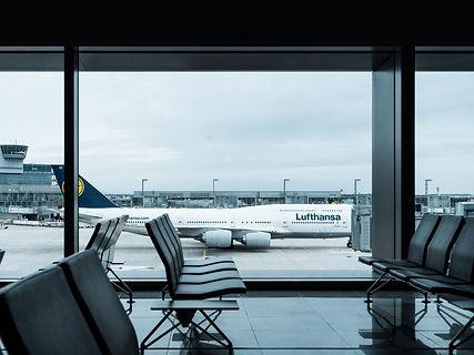 Lufthansa dans un aéroport
