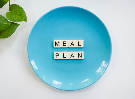 "WHAT ""MEAL PLAN"" DO I FOLLOW?"