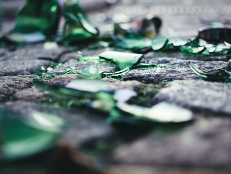 On Picking Up Our Broken Pieces