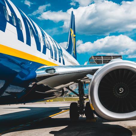 Ryanair negherà rimborsi per cancellazioni dovute a lockdown