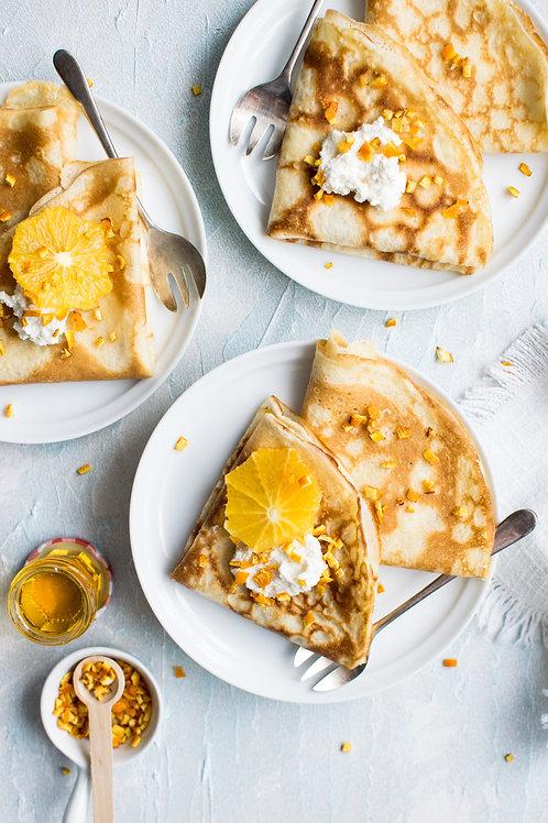 Pancake Recipe Card