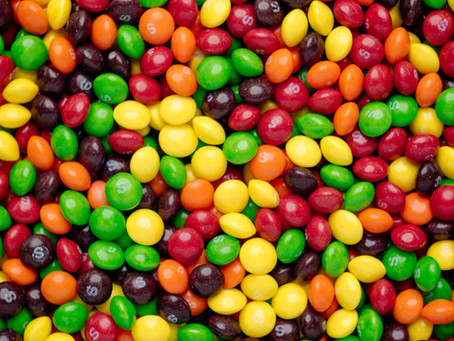 Dyeing for some candy? This might get you thinking twice about those brightly colored sweets!