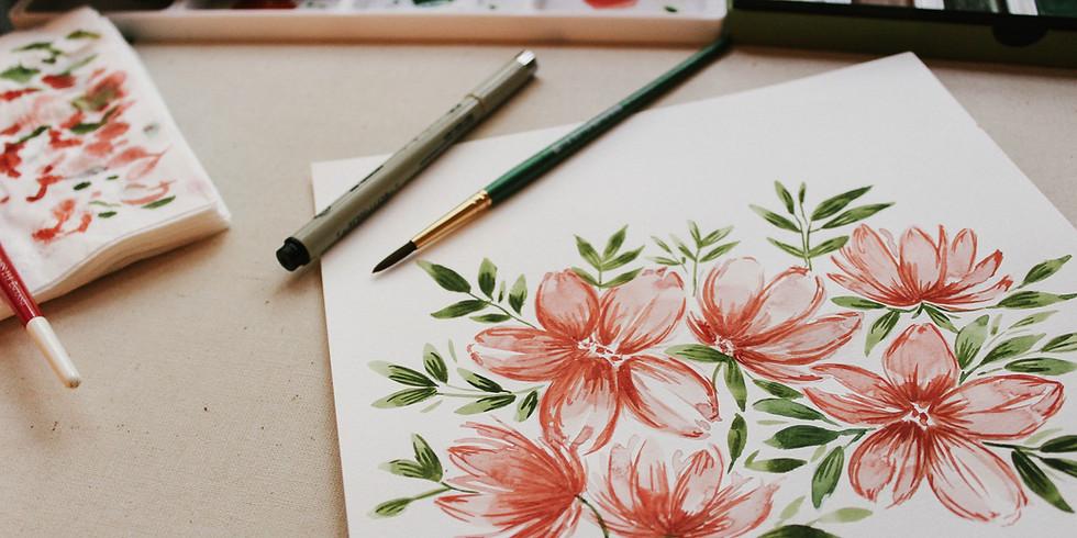 Workshop: Spring Watercolor