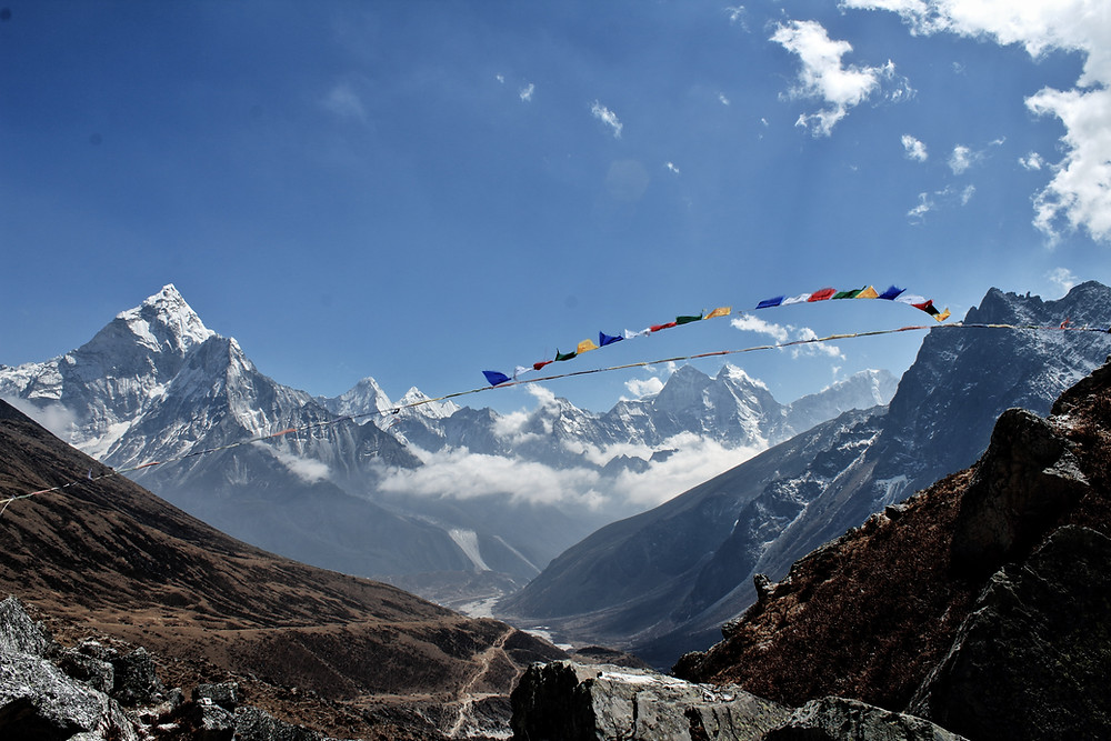 Base Camp In Sagarmatha National Park, Mount Everest: The Highest Mountain of the World
