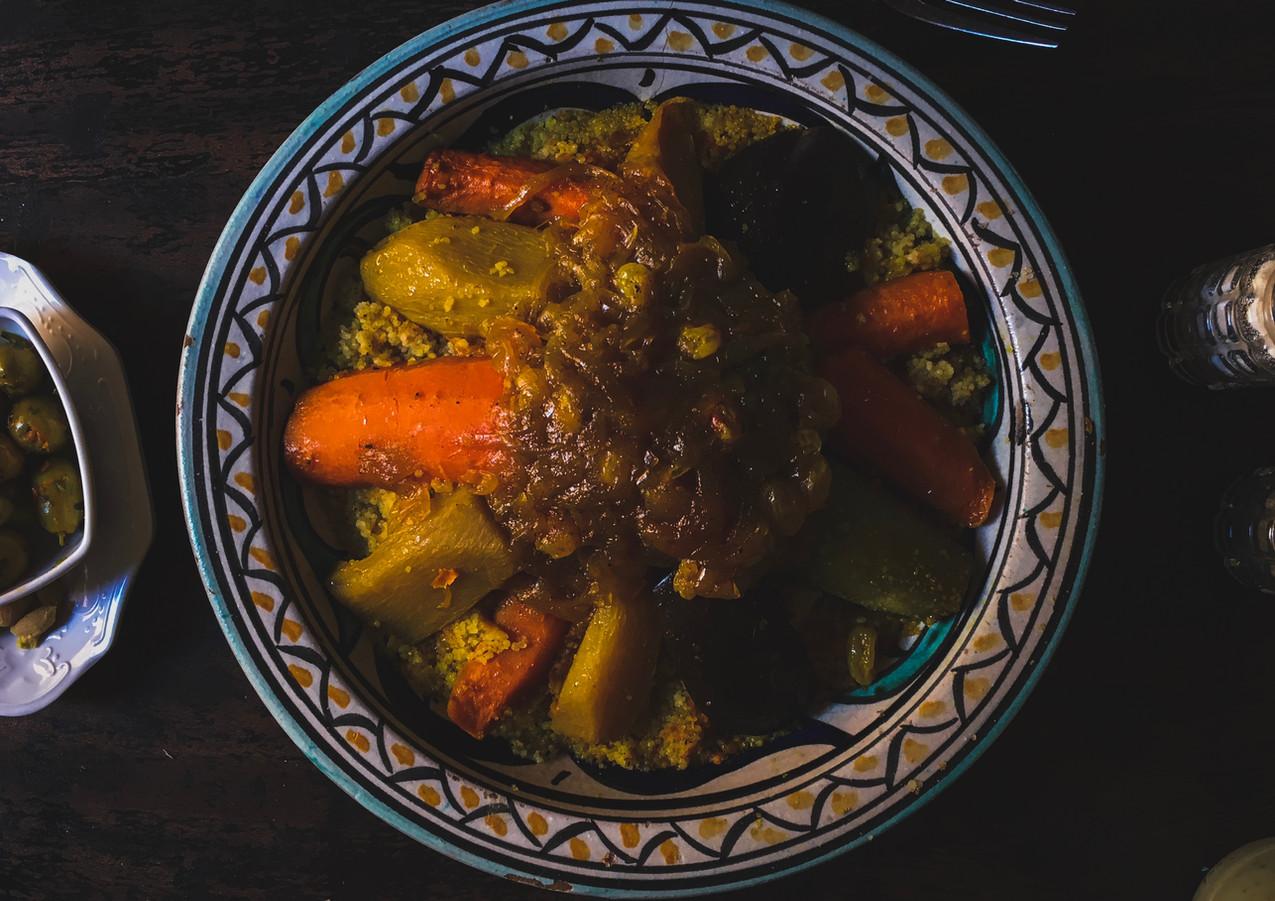 Traditional Moroccan preparations