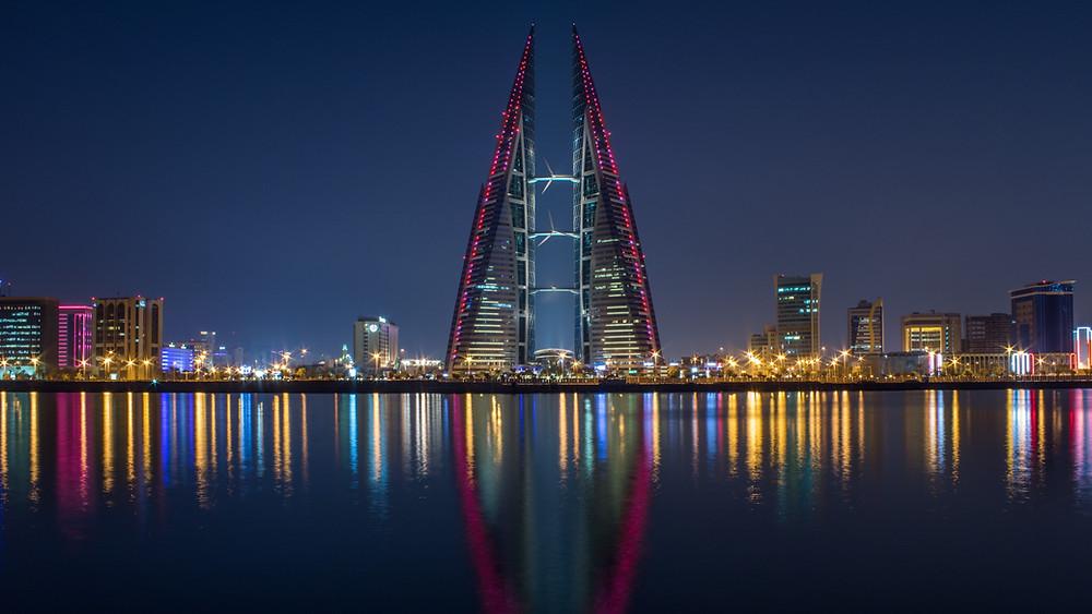 Manama skyline, Bahrain