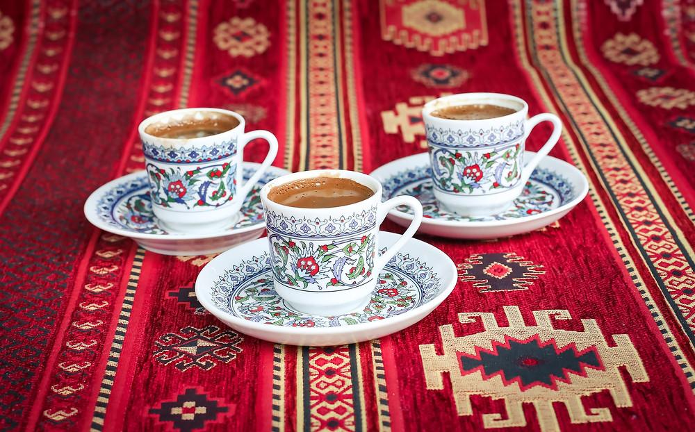 Turkish Coffee on Carpet