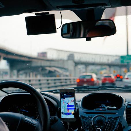 Accidente en un Uber o Lyft?