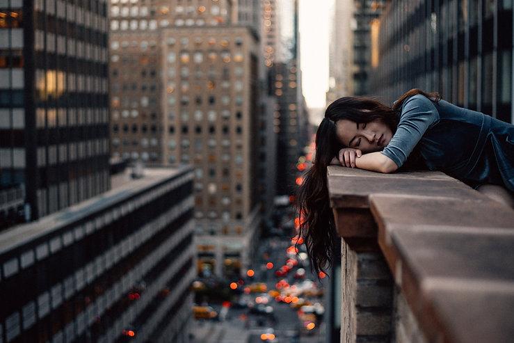 Sleeping over the edge