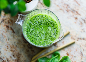 Super-Charged Plant-based Green Smoothie