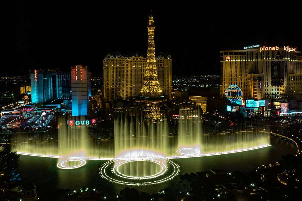 The Best Places To Travel To In The United States (USA) is Las Vegas in Nevada