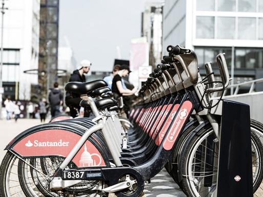 New Santander bikes for SE16