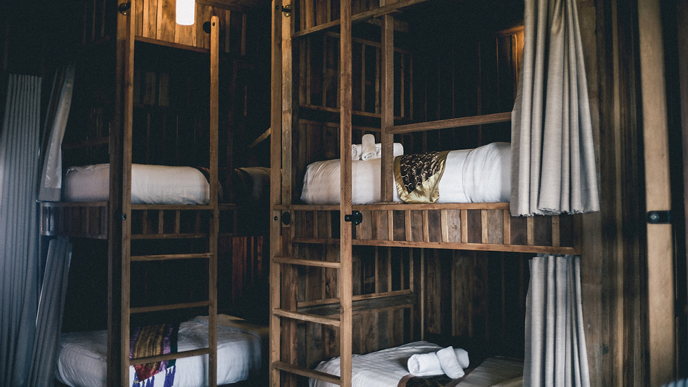 Staying in a hostel is a great way to travel on a budget