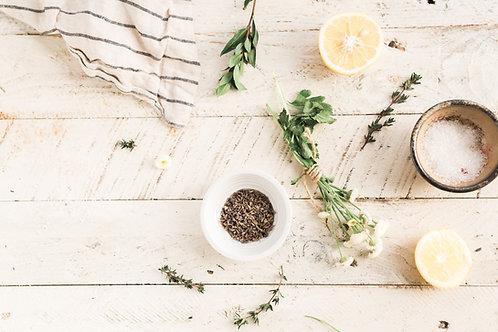 Té Blanc Medicine Jar Candle