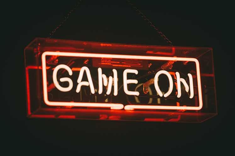 Game On Neon Sign for Gaming Room