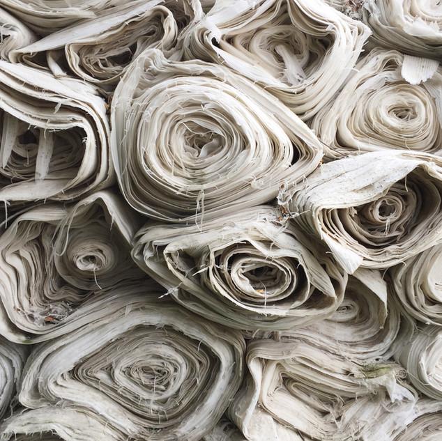 Fabric waste