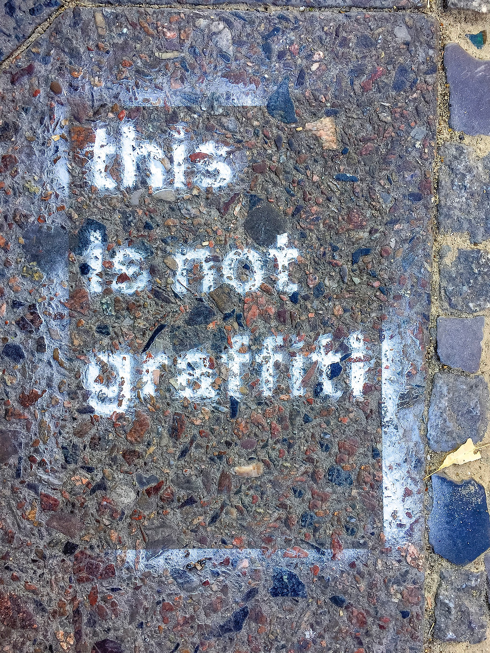 This is an image of graffiti.