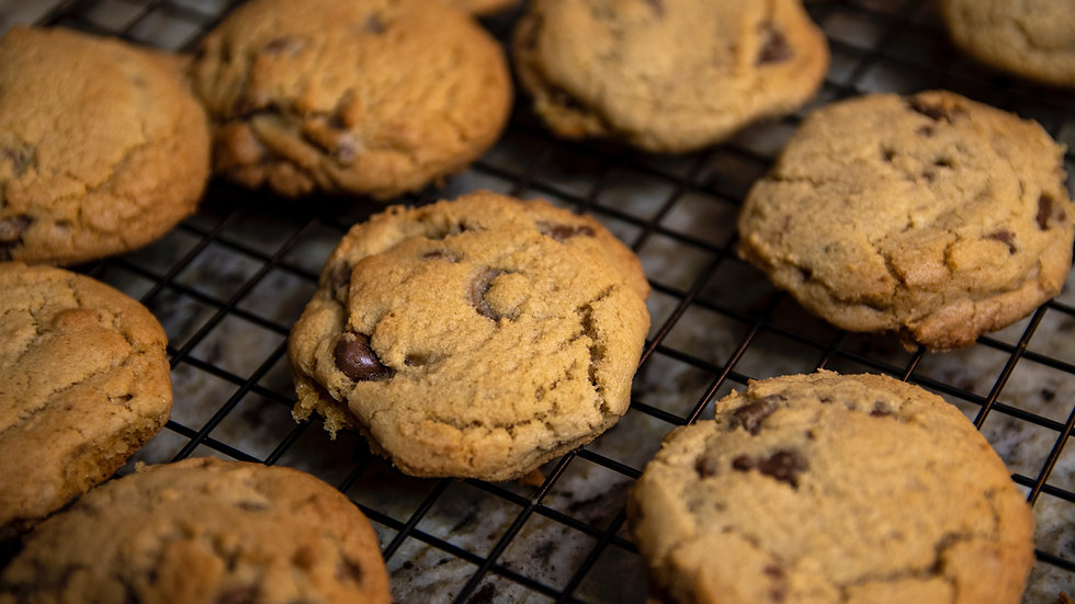 2 Perfect Chocolate Chip Cookies