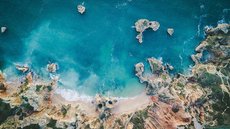 Algarve coastal line
