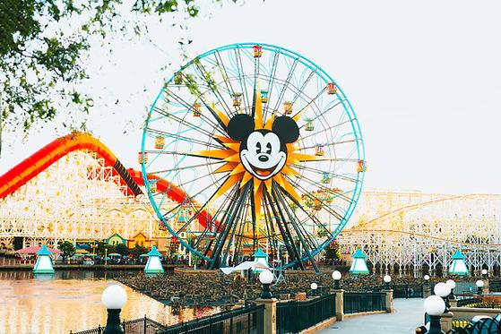 Ferris Wheel on Pixar Pier at Disney Califonia Adventure