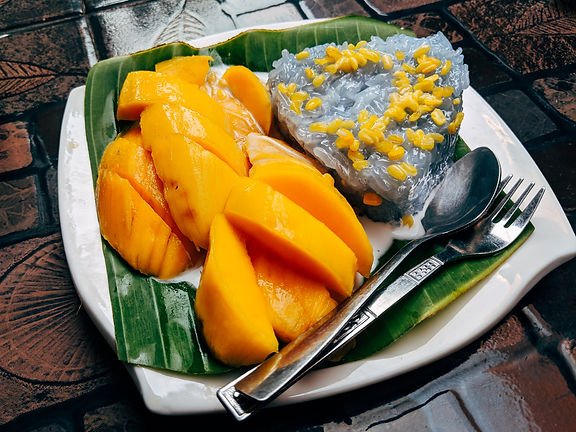 Thailandia cosa mangiare mango sticky rice