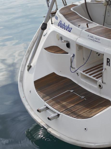 Jaké je vybavení jachty?