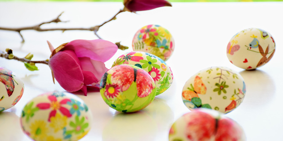Covered Dish Lunch & Easter Egg Hunt