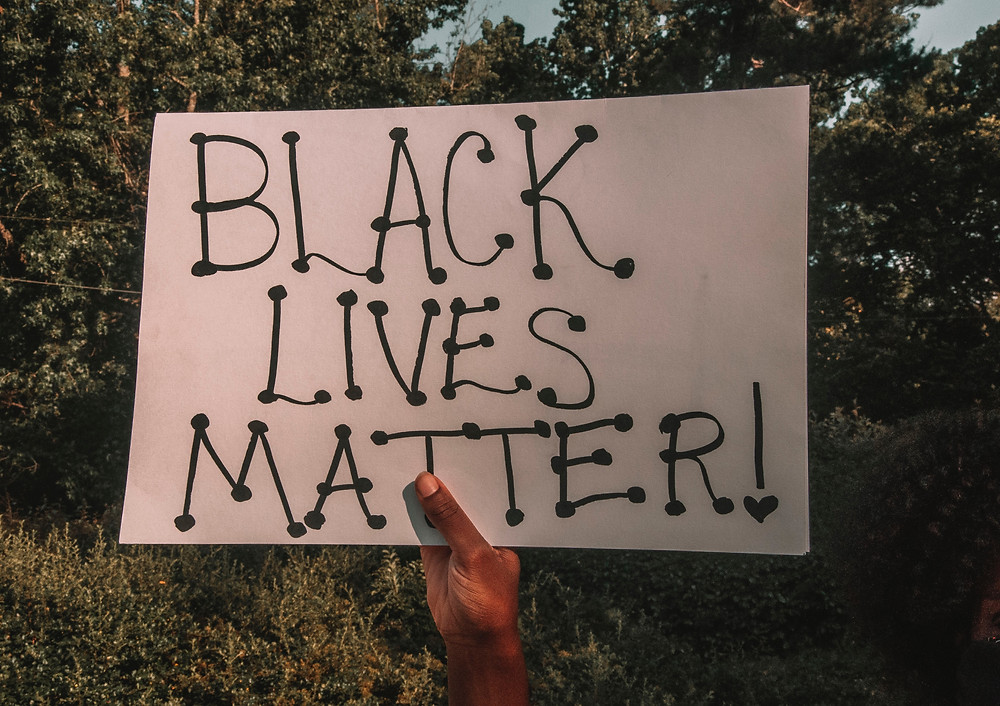 Black Lives Matter photo by Maria Oswalt