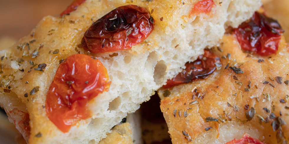 Focaccia and Olive Oil Tasting Class