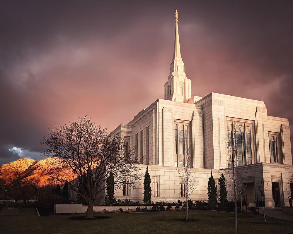 LDS Mormon Temple